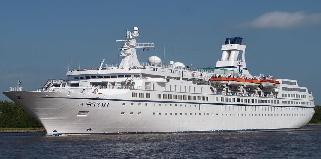 Cruise Vessel in Mauritius